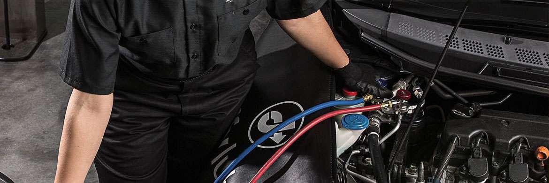 Ricarica aria condizionata per auto
