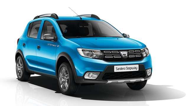 Modello auto Sandero del marchio Dacia